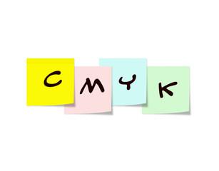 CMYK on Sticky Notes