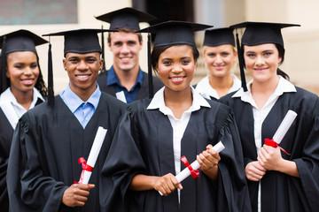 multiracial graduates