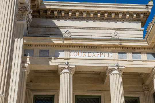Palais de justice cour d'appel