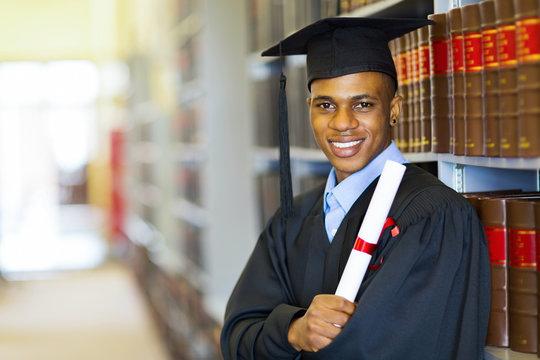 african american law school graduate