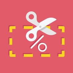 Vector Discount Coupon Icon