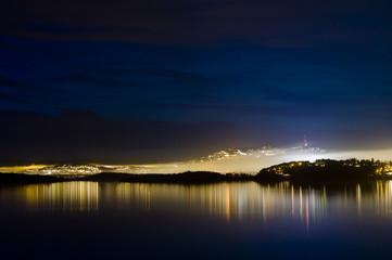 Oslo in mist