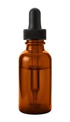 Brown Eye Dropper Bottle