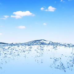 Water and sky
