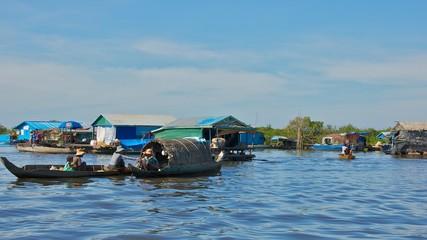 Life in Tonle Sap Lake, Cambodia