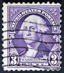 USA stamp showing president Thomas Jefferson, circa 1932