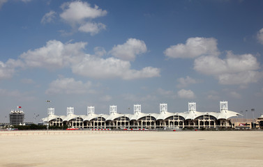 Bahrain International Circuit. Manama, Middle East