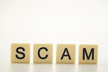 SCAM word