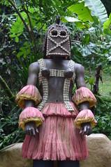 African Warrior Statue