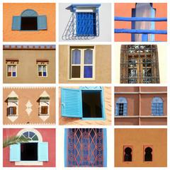 fenêtres au maghreb