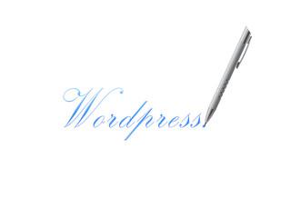 Wordpress boligrafo