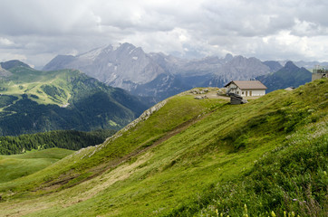 Col Rodella, Dolomites