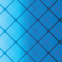 Abstract Background - Blue Squares Pattern