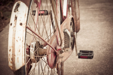 oude fiets vintage