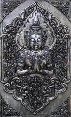 Silver art in Thailand