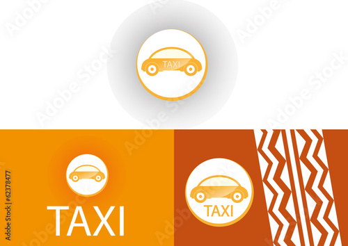 Taxi Logo Visitenkarte Auto Stock Image And Royalty Free