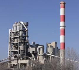 cementownia - fototapety na wymiar
