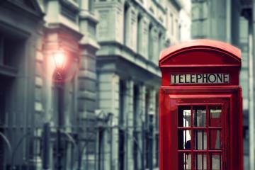 Telephone cabin