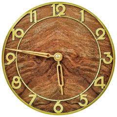 Art deco clockface from the early twentieth century
