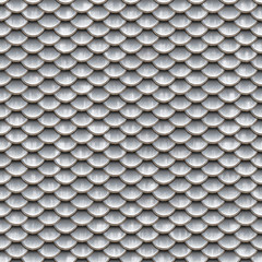Seamless scales snake skin texture silver smaler