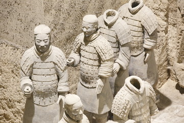 Keuken foto achterwand Xian Terra Cotta Warriors in Xian, China