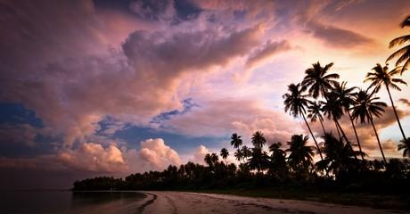 incredible sunset bintan