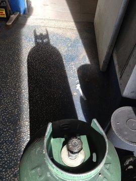 la bouteille de gaz Batman