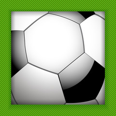 football close up background