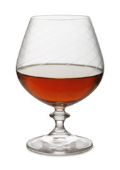 Snifter of aged brandy