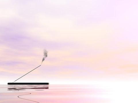 Incense - 3D render