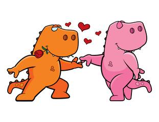 Dinosaur Romance