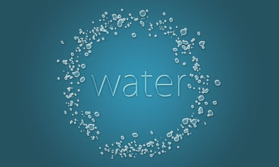 water-ring 水 water リング