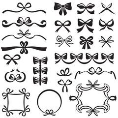 Bow design element set