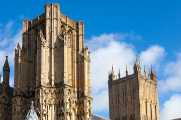 Wells Cathedral Somerset England UK Europe