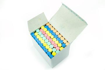 coloured chalks