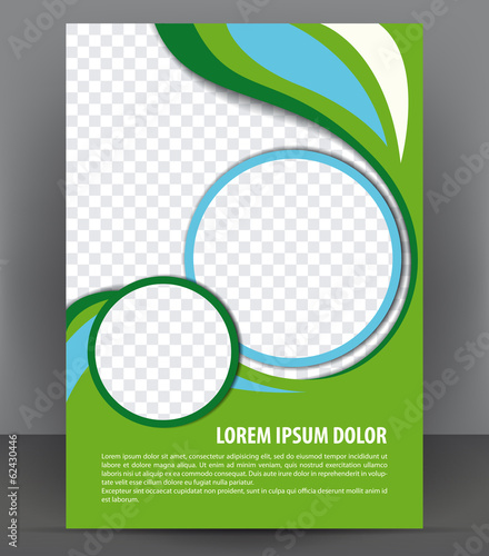 Poster board template publisher