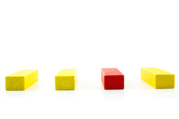 Red, Yellow Wooden toy