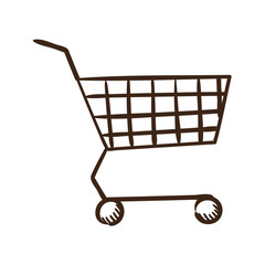 Shopping cart symbol.