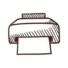 Printer symbol.