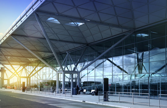 STANSTED AIRPORT, LONDON UK
