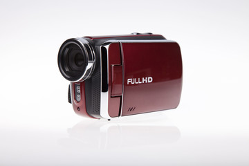 Video FULL HD Camcorder - Stock Image