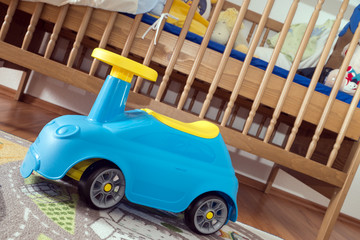 Kinderzimmer mit Bobby Car