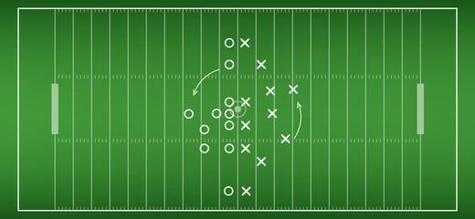 american football field background. vector soccer field