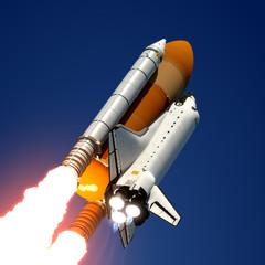 Fotobehang - Space Shuttle Launch