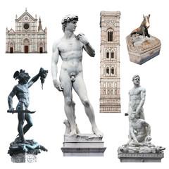 Wall Mural - Florence - David et autres symboles