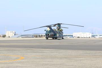 Foto auf Leinwand Hubschrauber ヘリコプター