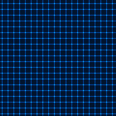 Neon blue grid