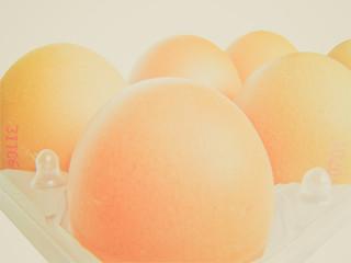 Retro look Eggs picture