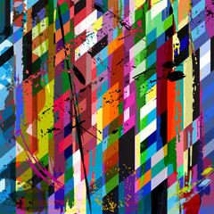 abstract background composition, with strokes, splashes and stri