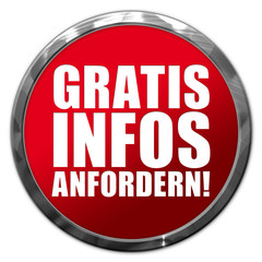 Gratis Infos anfordern! Button, Icon